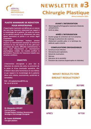 Newsletter Chirurgie Plastique # 3