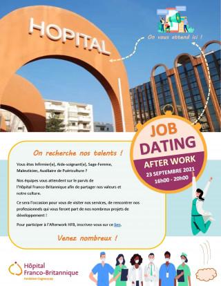 Affichage - Job dating